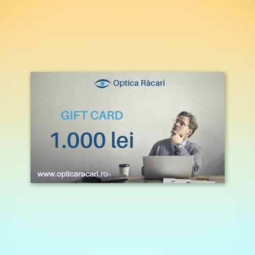 gift card optica racari 1000