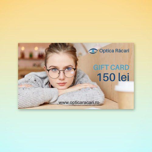 gift card optica racari 150 lei