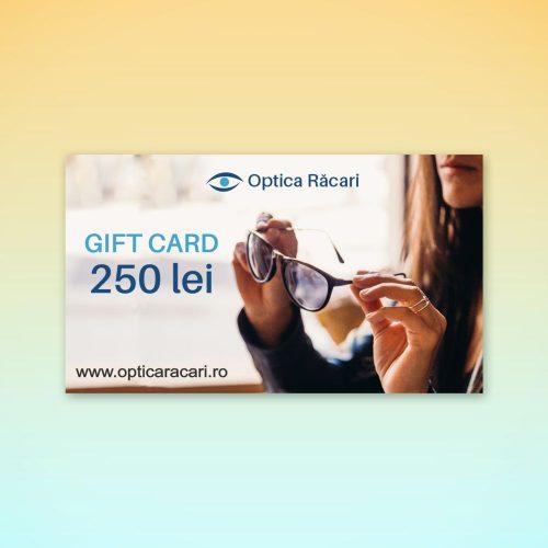 gift card optica racari 250