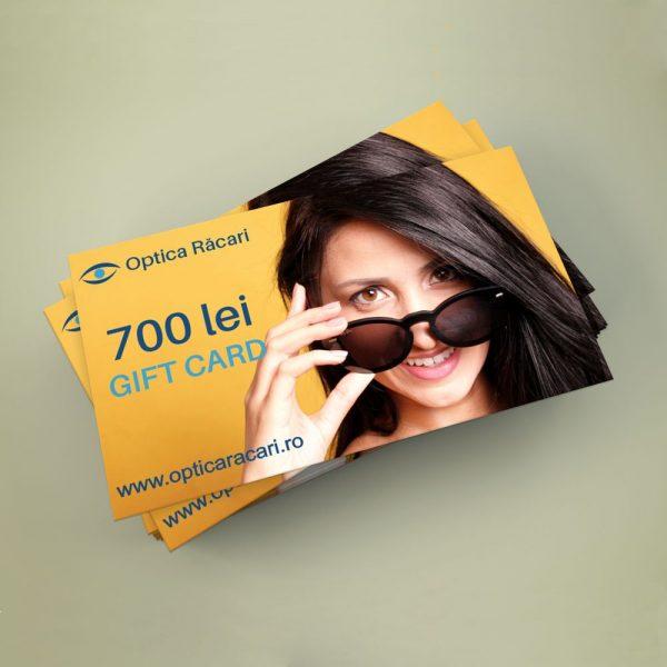 gift card optica racari 700 lei